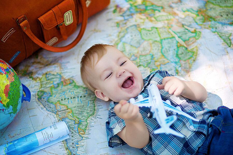 Польза путешествий для малыша
