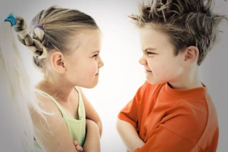 Причины появления детской агрессии