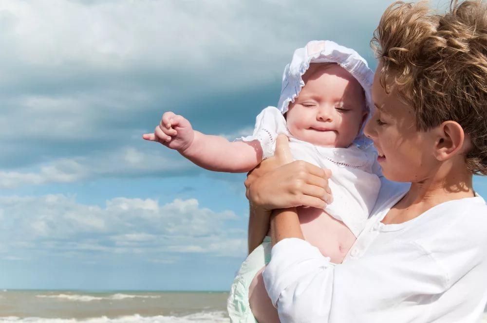 Отдых с новорожденным