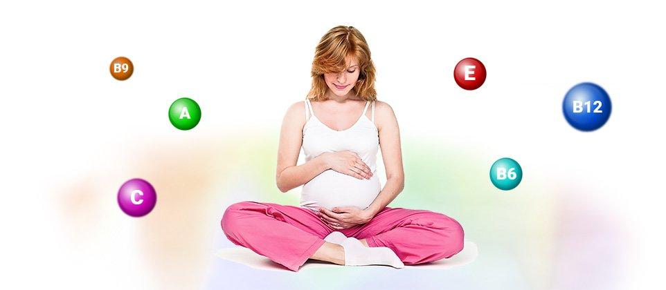 Необходимость витаминов для беременных