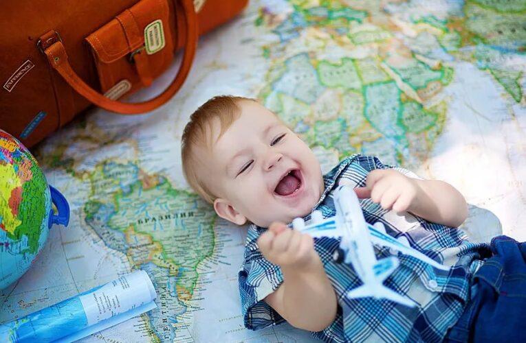 Особенности путешествия с грудным ребенком