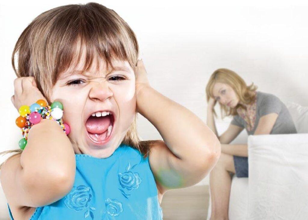 Борьба с истериками ребенка