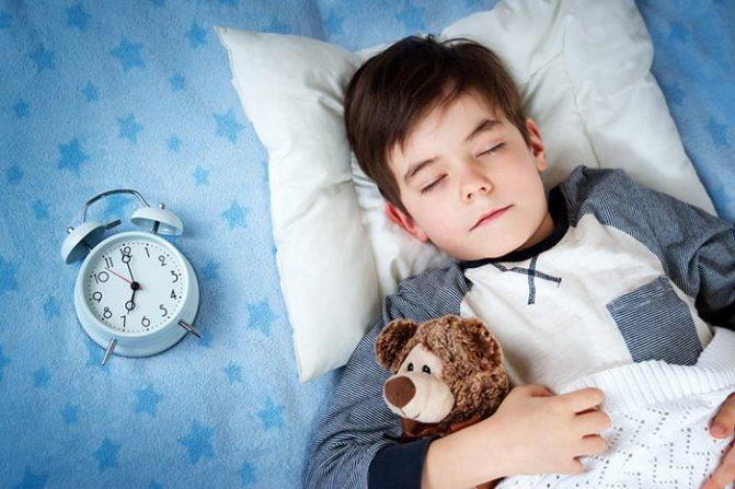 Что затрудняет приближение сна у малыша?