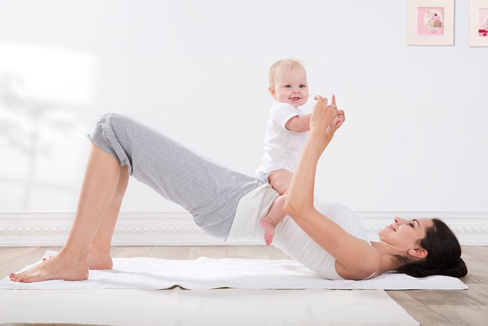 Физические упражнения по окончании послеродового периода