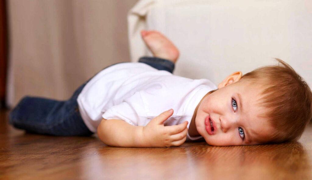 Как успокоить ребенка, если у него истерика?
