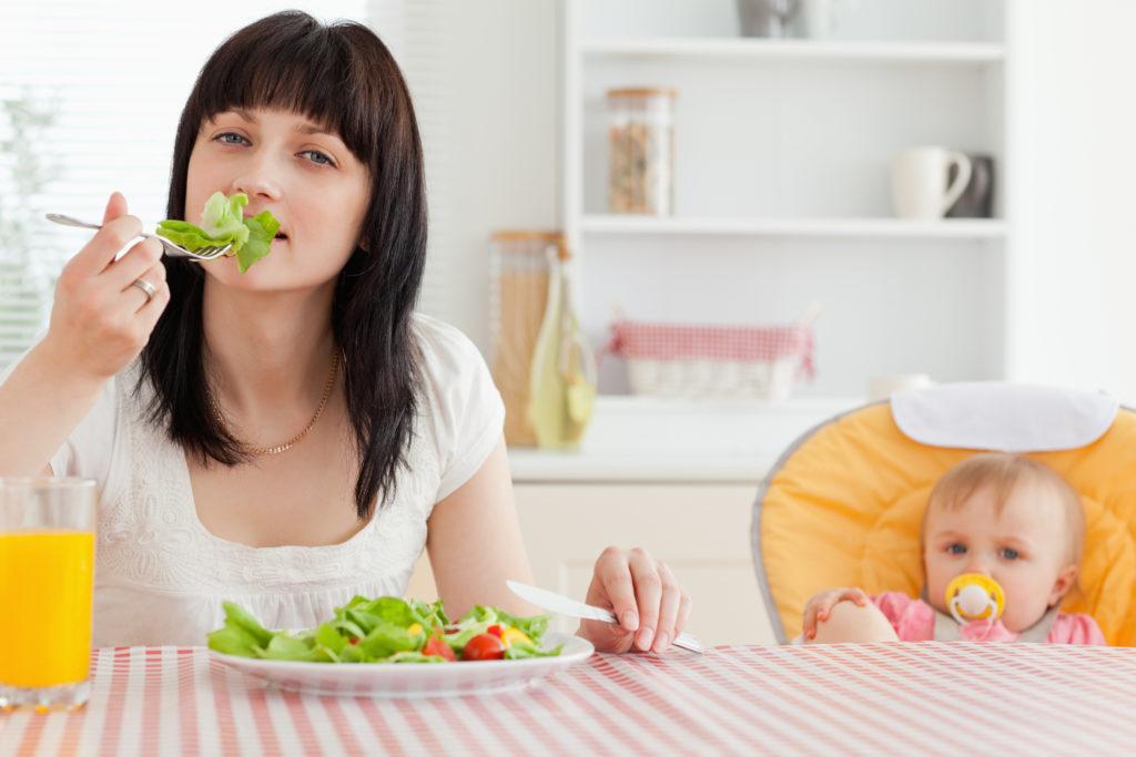 Правильная диета после родов