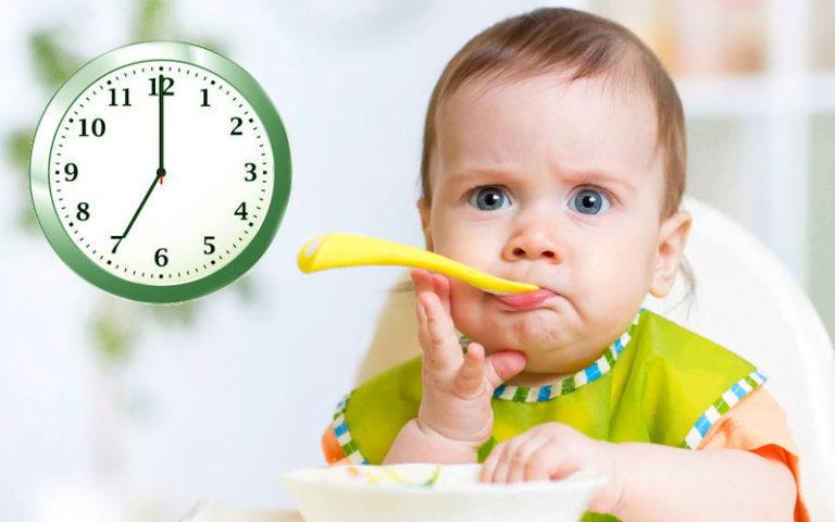 Ужин малыша 1 год