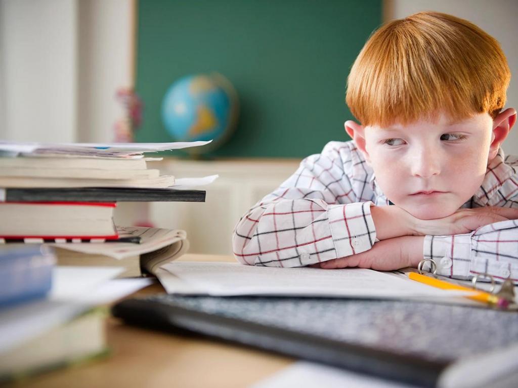 Застенчивость ребенка в школе