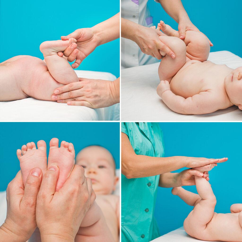 Как делать гимнастику новорождённому?