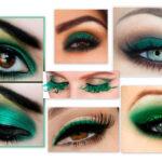 Как для зелёных глаз сделать правильный макияж?