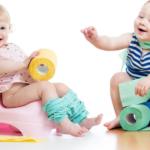 Приучаем детей к первой самостоятельности. Процесс приучения малыша к горшку