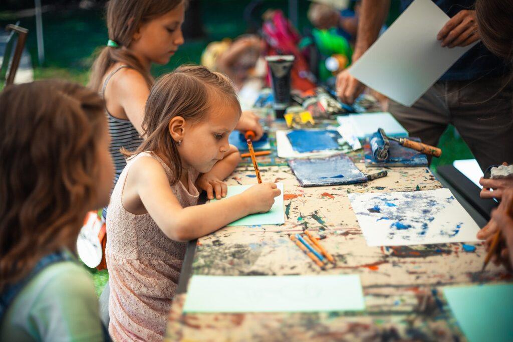 Место для рисования ребенка