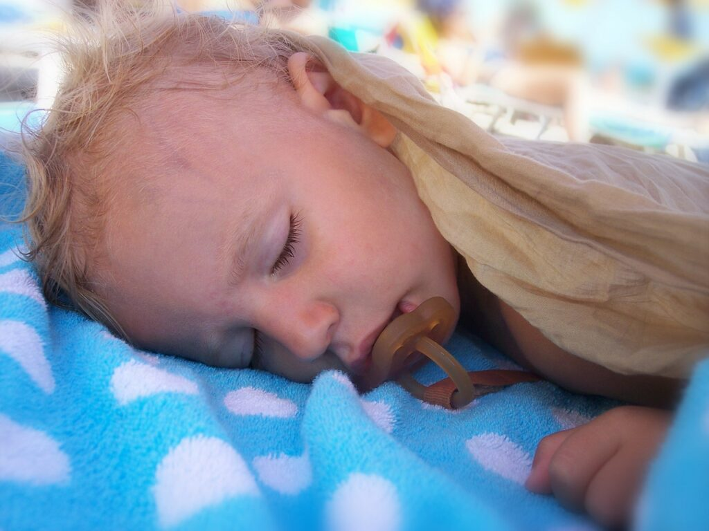 Вторичная гиперпотливость у младенца
