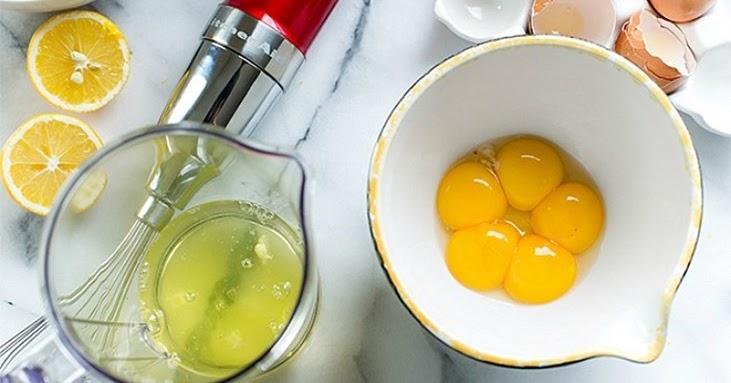 Маска яично-фруктовая