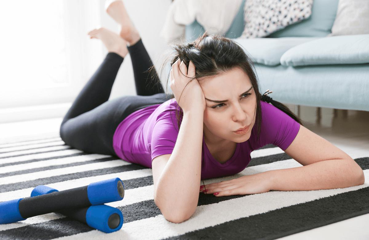 Сложное упражнение против лени