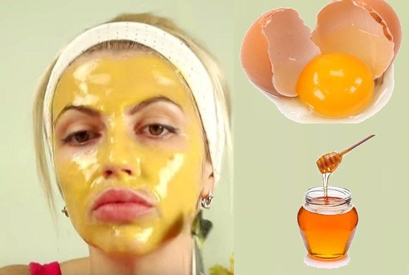 Универсальная маска из яйца