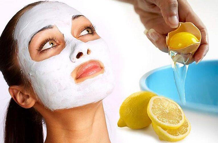 Яичная маска для лица