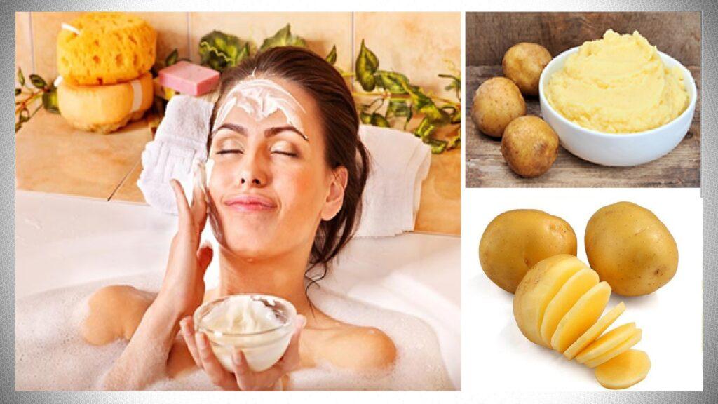 Яичная маска с картофелем и маслом оливок